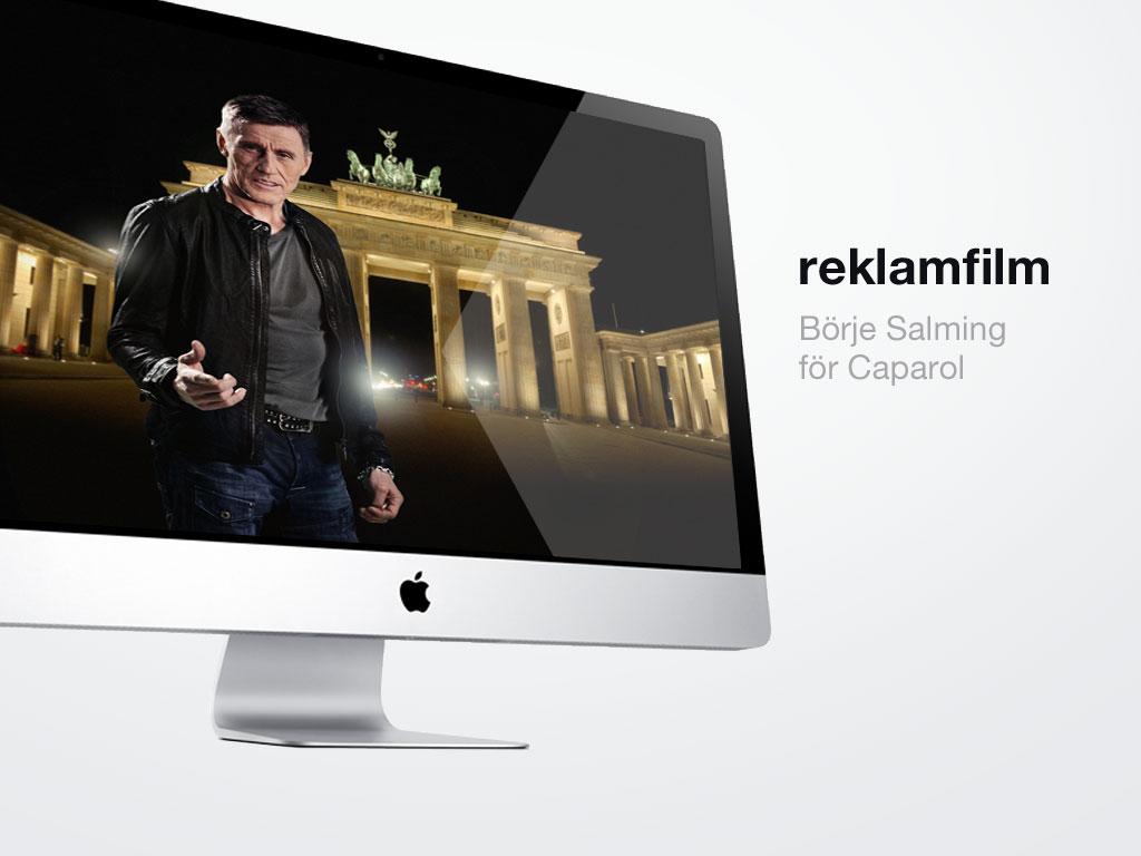 Caparol reklamfilm Börje Salming