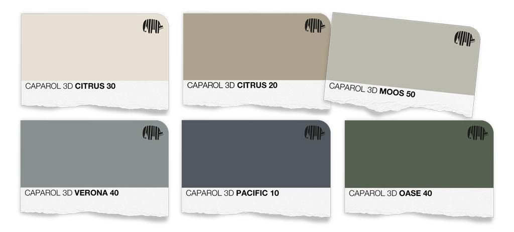 piak-caparol-green-palette