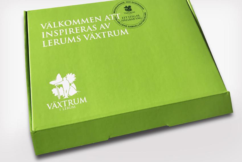 DM låda för Växtrum i Lerum.