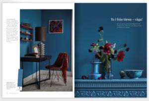 Inspirerande rum skapade av marie Wärme och Karolina Karlsson för Caparol by Sköna hem